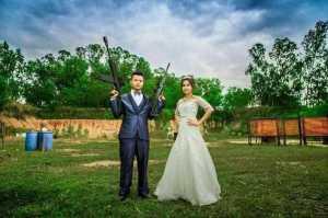 Wedding Goes bloody  As Groom